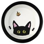 Melia Black Cat Peek Bowl