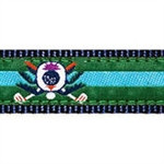 Blue Golf Thistle Dog Collars