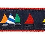 Rainbow Fleet Dog Collars