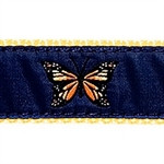 Monarch Butterfly Dog Collars