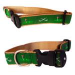 18th Hole 3/4 & 1.25 inch Dog Collar,