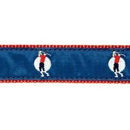 Long Shot Golfer 1.25 inch Dog Collar, Harness, Lead & Accessories