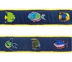 Tropical Fish Dog Collars