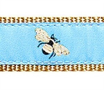 Sky Blue Bumblebee Dog Collars