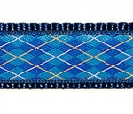 Blue Argyle Dog Collars