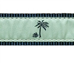 Seamist Palm Tree Dog Collars
