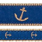 Blue Anchor Dog Collars