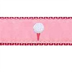 Pink Golf Ball Dog Collars