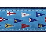Yacht Club Burgee Dog Collars