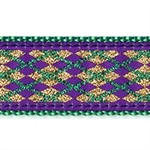 Mardi Gras Crab Dog Collars