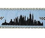 New York City 3/4 & 1.25 inch Dog Collar, Harness, Lead & Acc