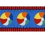 Beach Balls 3/4 & 1.25 inch Dog Collar, Harness, Lead & Accessories