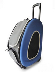 EVA Pet Dog Carrier in Blue - 4 in 1