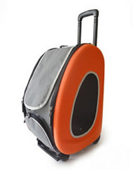 EVA Pet Dog Carrier in Orange - 4 in 1