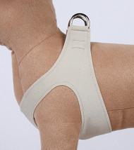 Plain Ultrasuede Pet Dog Step In Harness - Doe by Susan Lanci Designs