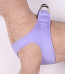 Plain Ultrasuede Pet Dog Step In Harness - French Lavender by Susan Lanci Designs