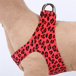 Plain Ultrasuede Pet Dog Step In Harness - Mango Cheetah Lanci Designs