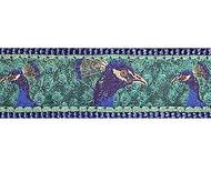 Peacocks 3/4 & 1.25 inch Dog Collar, Harness, Lead & Acc