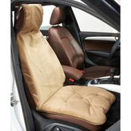 Cashew Microvelvet Single Car Seat Cover