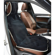Ebony Microvelvet Single Car Seat Cover