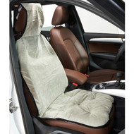 Granite Microvelvet Single Car Seat Cover