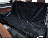 Ebony Microvelvet Vehicle Back Seat Cover