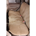 Cashew Microvelvet Vehicle Back Seat Cover