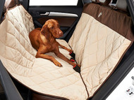 Cross Country Hammock Back Seat Protector Cover - Almond