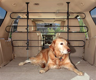 Tubular Car Pet Barrier