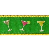 Happy Hour 3/4 & 1.25 inch Dog Collar, Harness, Lead & Acc.