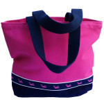 Canvas Tote - Design your own.  Match it to your dogs collar or harness!  Collars & Harnesses are by Preston Dog.