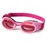 Pink Pet Dog Sunglasses Doggles ILS with Pink Lens