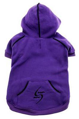 Sport Dog Hoodie Sweatshirt in Ultra Violet