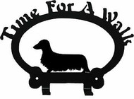 Dog Leash Holder - Dachshund - Long Hair