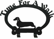 Dog Leash Holder - Dachshund - Smooth