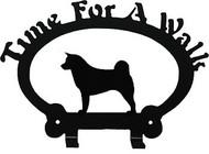 Dog Leash Holder - Akita