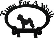 Dog Leash Holder - Bichon Frise