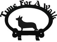 Dog Leash Holder - Corgi Cardigan Welsh