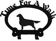 Dog Leash Holder - Retriever - Flat Coated