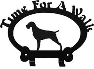 Dog Leash Holder - German Wirehaired Pointer