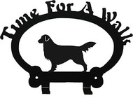 Dog Leash Holder - Golden Retriever