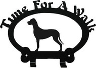 Dog Leash Holder - Great Dane - Uncropped