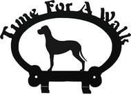Dog Leash Holder - Great Dane - Uncropped