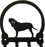 Dog Leash Holder - Neapolitan Mastiff