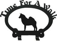 Dog Leash Holder - Norwegian Elkhound