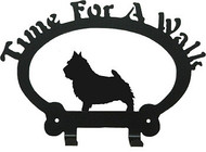 Dog Leash Holder - Norwich Terrier