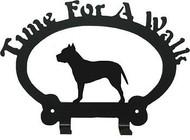 Dog Leash Holder - Pit Bull
