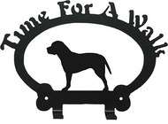 Dog Leash Holder - Pit Bull - Uncropped