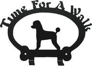 Dog Leash Holder - Poodle Pet - Clip