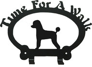 Dog Leash Holder - Poodle Pet - Clip